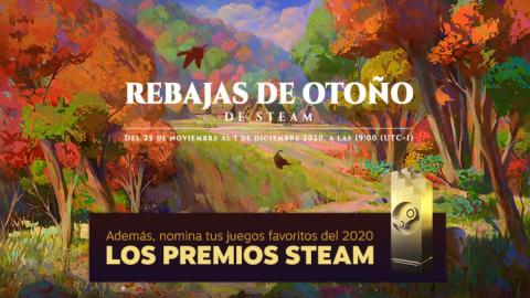 Rebajas de Otoño Steam 2020