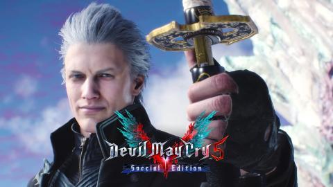 DLC de Vergil en Devil May Cry 5