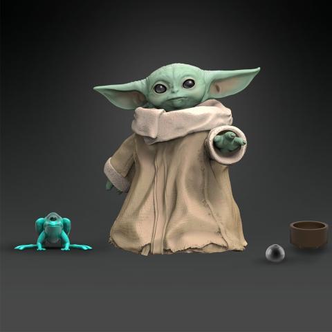 Figura de acción Baby Yoda de la serie The Mandalorian