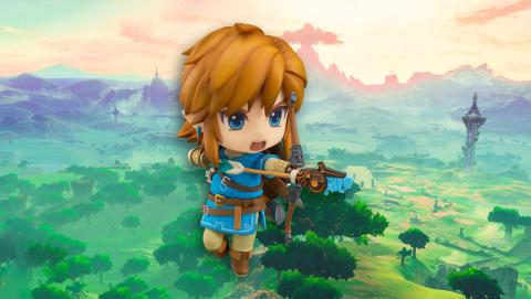 Figura Nendroid de Link de Zelda estilo Kawaii