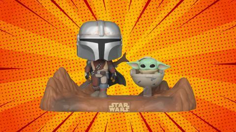 Funko Pop! The Mandalorian y Baby Yoda