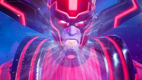 Evento Galactus Fortnite temporada 4
