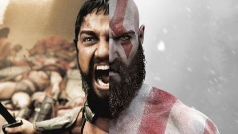 Gerard Butler como Kratos