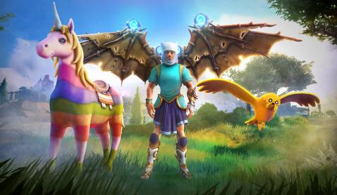 Immortals Fenyx Rising hora de aventuras