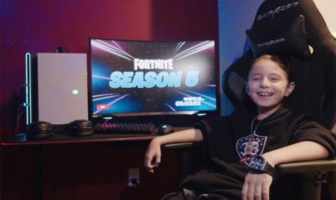Joseph Deen con 8 años eSports Fortnite