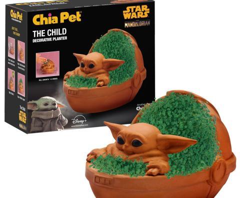 Baby Yoda también es una maceta para que des forma a tu chia con la Fuerza  - HobbyConsolas Entretenimiento