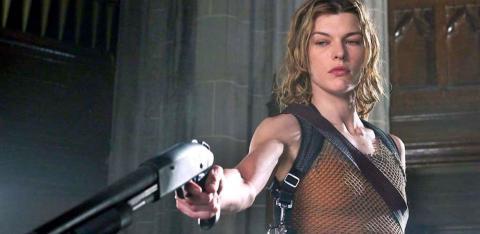 Milla Jovovich en la saga cinematográfica de Resident Evil