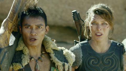 Monster Hunter - Tony Jaa y Milla Jovovich