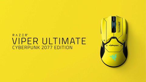 Razer Viper Ultimate edición Ciberpunk 2077