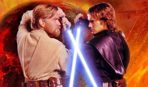 Star Wars - Obi-Wan Kenobi vs Anakin Skywalker