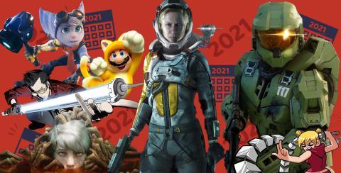 Calendario lanzamientos de videojuegos 2021