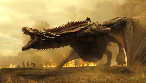 Drogon - Juego de Tronos
