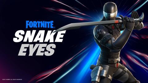 Fortnite Snake Eyes