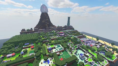 The Legend of Zelda Link's Awakening en Minecraft