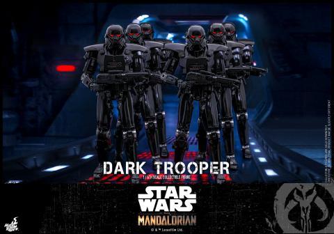 The Mandalorian - Soldado Oscuro - Figura de Hot Toys