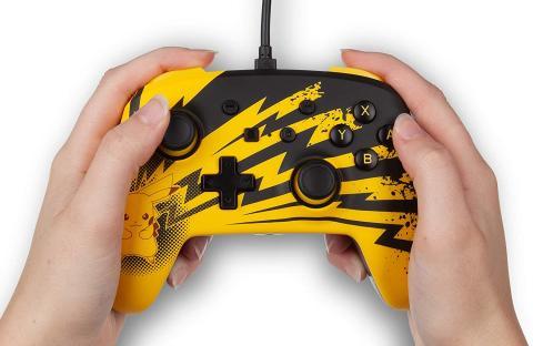 Mando Power A Pikachu Nintendo Switch