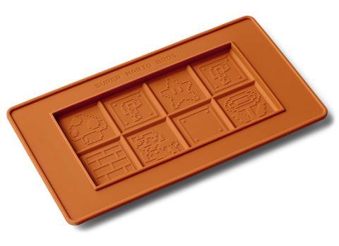 Molde de Nintendo para hacer chocolate