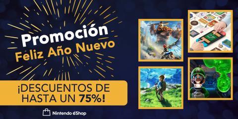 Ofertas Nintendo Switch Feliz Año Nuevo