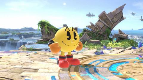 Pac Man Super Smash Bros Ultimate
