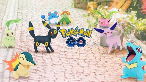 Pokemon GO Evento Johto