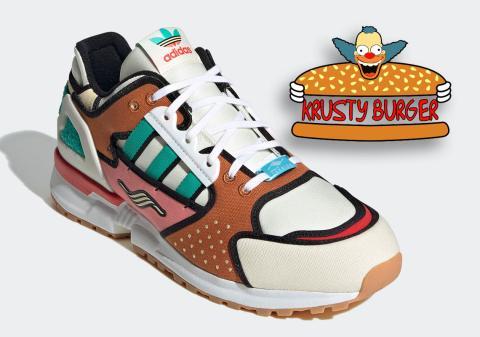 Los Simpson - Adidas Krusty Burguer