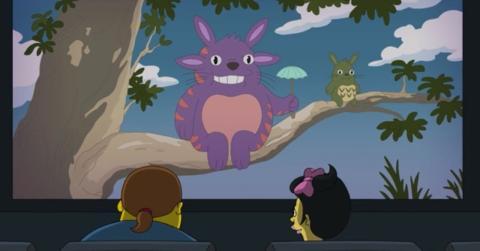 Los Simpson - Mi vecino Totoro