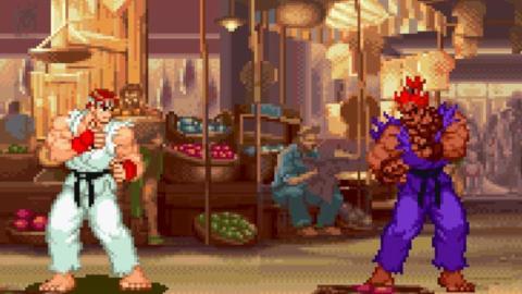 Street Fighter Alpha 2 Akuma