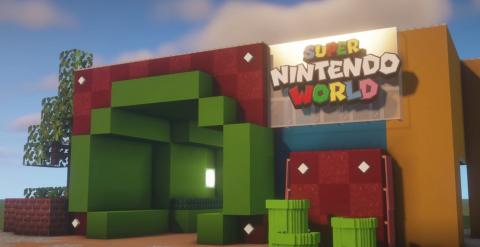 Super Nintendo World Minecraft