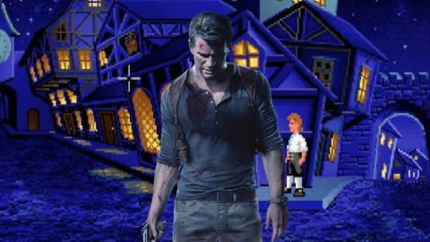 Uncharted 4 Monkey Island