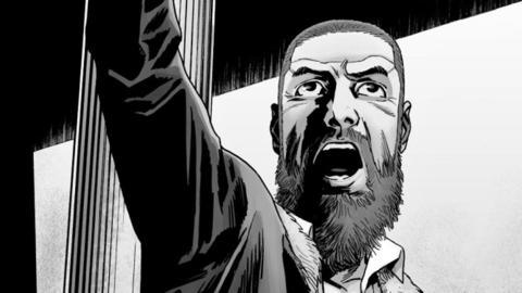 The Walking Dead cómic - Rick Grimes