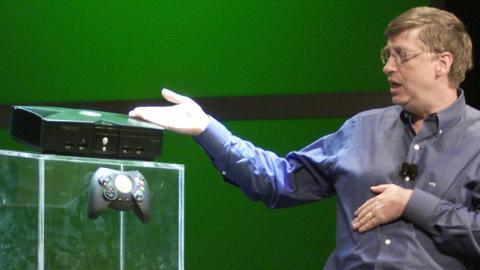 Xbox 2001 Bill Gates