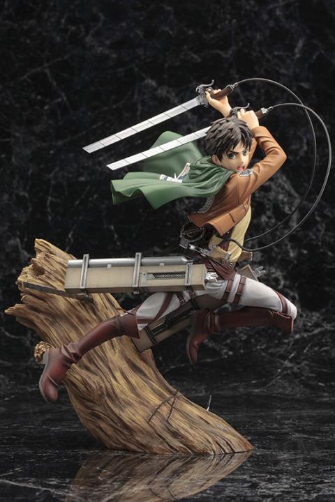 Ataque a los Titanes - Figura de Eren de Kotobukiya