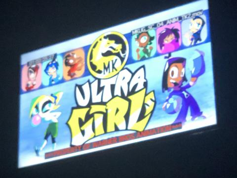 Diseños de Mortal Kombat Ultra Girls (Serie TV)