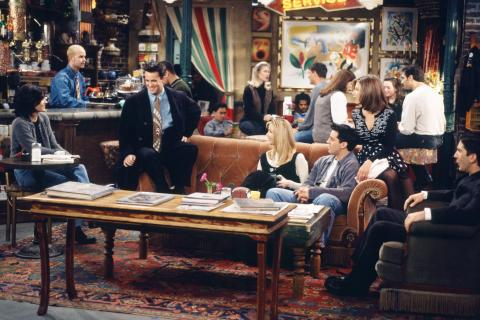 Friends en Central Perk