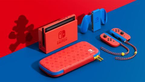 Nintendo Switch edición Mario