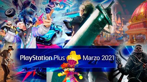 Juegos gratis PS Plus marzo 2021