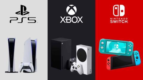 PS5 vs Xbox Series x vs Switch