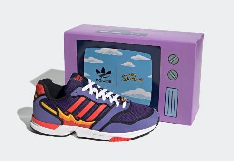 Los Simpson - Adidas Flameado de Moe