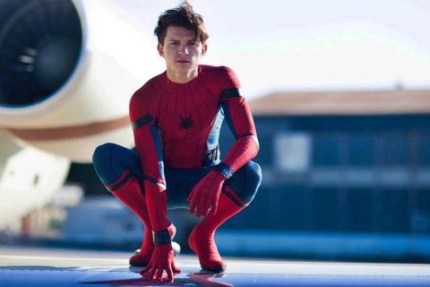 Tom Holland como Spider-Man en las películas del UCM