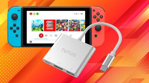 Adaptador HDMI para Nintendo Switch