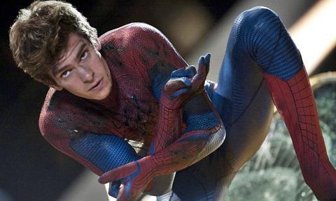 Andrew Garfield en The Amazing Spider-Man