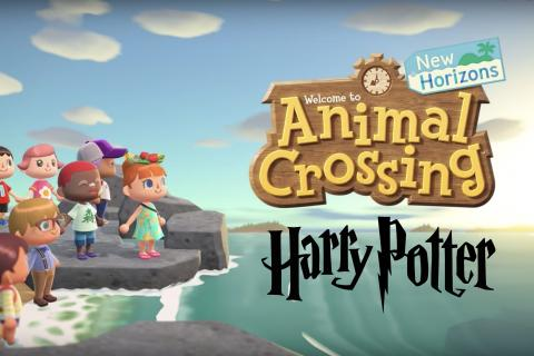 Animal Crossing New Horizons - Harry Potter