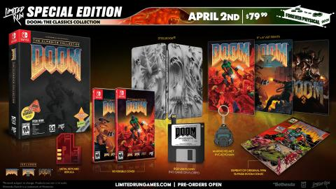 DOOM Limited Run Games