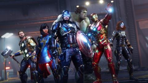 EMBARGO Marvel´s Avengers PS5 Series X