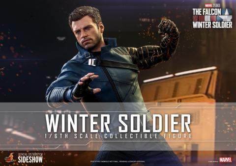Falcon y el Soldado de Invierno - Figura Soldado de Invierno de Sideshow Collectibles