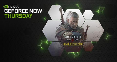 GeForce NOW The Witcher