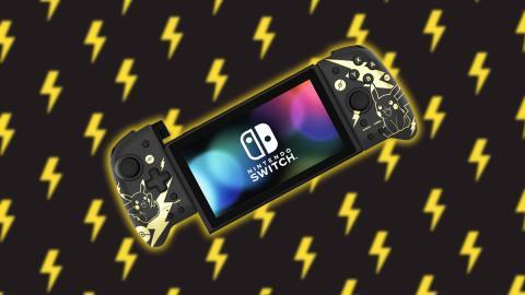HORI Split Pad Pro Pikachu Black & Gold