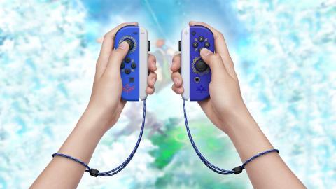 Joy-Con Zelda Skyward Sword
