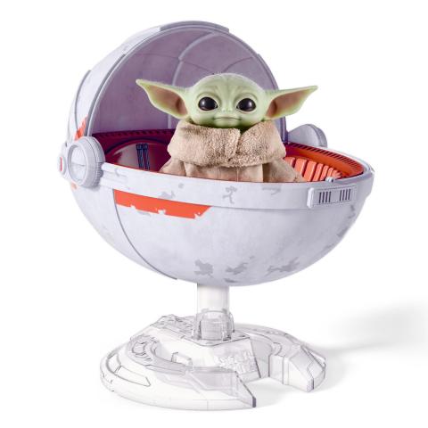 The Mandalorian - Peluche Grogu (Baby Yoda) de Mattel