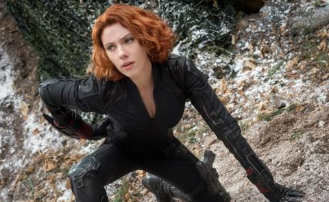 Scarlett Johansson como Viuda Negra en el UCM